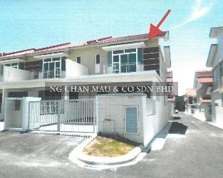 2 Storey Terrace House, End Lot