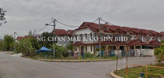 [Good Condition & Nice Neighbourhood] 2 Storey Terrace House in Seri Pristana, Sungai Buloh, End Lot
