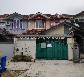 Freehold 2 Storey Terrace House, Intermediate, Renovated [Neighbouring with Bukit Jelutong; 10 mins to AEON Mall Shah Alam]