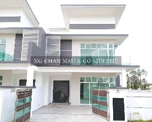 [Price dropped 19%] Freehold 2 Storey Cluster House (Vacant Unit; 10 mins to AEON Taman Universiti & 12 mins to Sutera Mall)