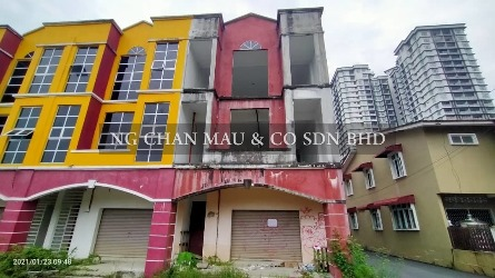 [Freehold] 3 Storey Shop Office, End Lot