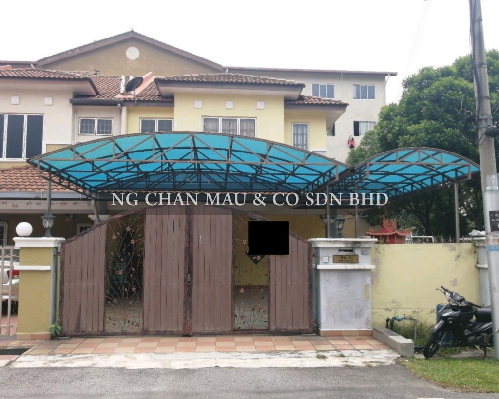 [Price Reduced 27% + Vacant Unit] 2 Storey Terrace House with Extra Land,End Lot [7 min to Lotus's Rawang (Tesco); 10 min to Rawang ETS Station; 70% Occupancy Rate]