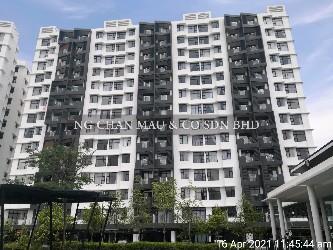 Freehold 3 Bedroom Kepayang Oasis Condominium (Oasis Condominium @ Simee)  [Vacant Unit; 10 mins to Ipoh Parade]