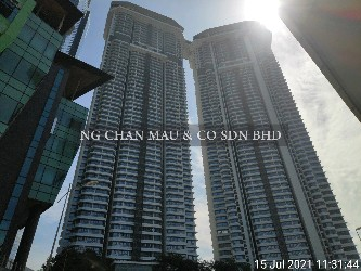 Freehold 1 Bedroom Residensi Sentral Service Apartment (The Sentral Residences) [6 mins walking distance to the Malaysia's largest transit (KL Sentral Station)]