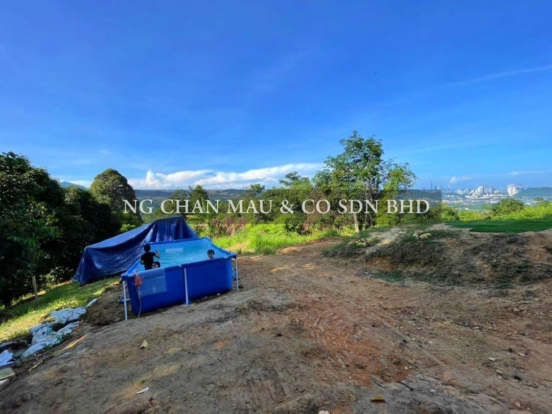 [Price drop RM600k] Agricultural Land in Kemensah, Ampang [Breathtaking KLCC Views; Planted with Durian trees]